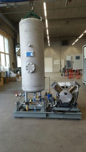 FC Assembly hall for Booster Gas Regulation Unit and other gas control units