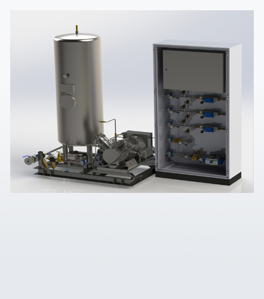 Booster Gas Regulation Unit
