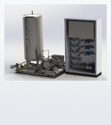 Booster Gas Regulation Unit