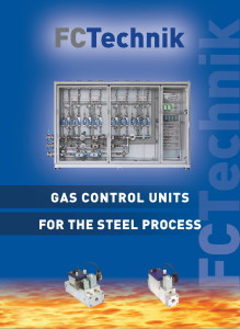In the brochure Gas Control Units for the Steel Industry FC Technik gives an overview about gas control units for production processes in the steel industry