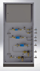 Gas control Unit for Foundries