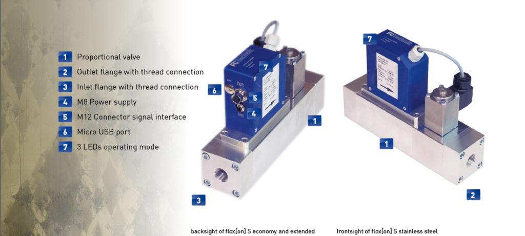 Mass Flow controller made by FC Technik