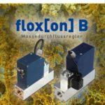 deutsche Version der Broschüre flox[on] B, Massedruchflussregler